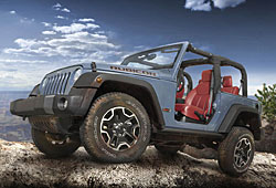 Jeep Wrangler Rubicon 10th Anniversary Edition - Seitenansicht