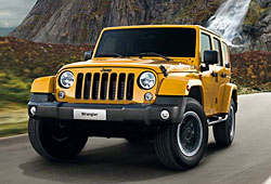 Jeep Wrangler X - Frontansicht