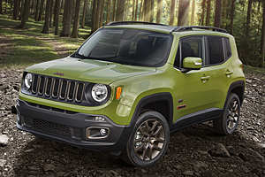 Jeep Renegade 75th Anniversary in Jungle Green