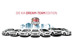 Kia Dream Team Editions-Modelle