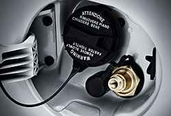 Kia Picanto 1.0 LPG - Tankstutzen fürs Benzin und fürs Erdgas