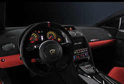 Lamborghini Gallardo 570-4 Super Trofeo Stradale, Armaturenbrett