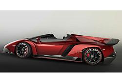 Lamborghini Veneno Roadster - Seitenansicht