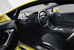 Lamborghini Huracán - Innenraum
