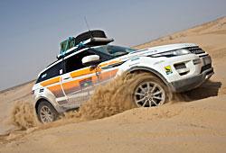 Land Rover Range Rover Evoque Seidenstraße - Seitenansicht