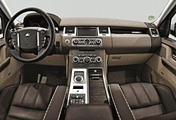 Range Rover Sport Luis Trenker Fashion Edition - Cockpit