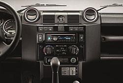 Land Rover Defender - Mittelkonsole Variante Black Design