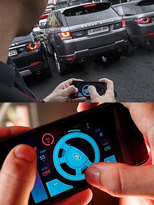 Range Rover Sport - ferngesteuert mit Smartphone-App