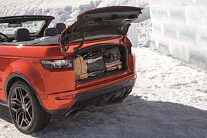 Range Rover Evoque Cabriolet - Gepäckfach