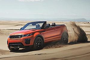 Range Rover Evoque Cabriolet - Außenansicht