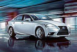 Lexus IS 300h Business Edition - Seitenansicht