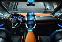 Lexus LF-NX Conept - Cockpit