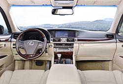 Lexus LS Innenraum
