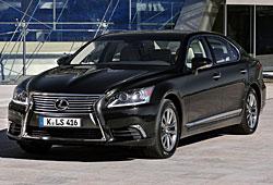 Lexus LS 460 Frontansicht