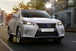 Lexus RX 450 h Limited Edition - Frontansicht