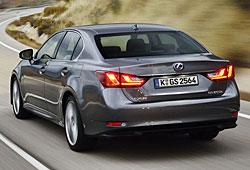 Lexus GS 300h - Heckansicht
