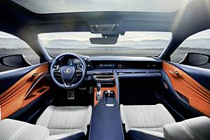 Lexus LC 500h - Innenraum