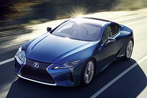Lexus LC 500h - Frontansicht