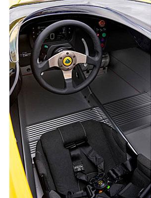 Lotus 3-Eleven - Cockpit