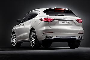 Maserati Levante - Heckansicht