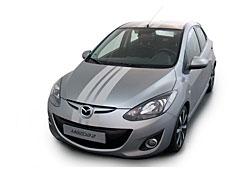 Mazda 2 - Streifen-Beklebung
