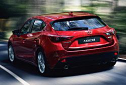 Mazda 3 - Heckansicht