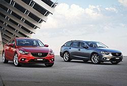 Mazda 6 Limousine und Kombi