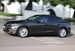 Mazda 3 Limousine - Seitenansicht