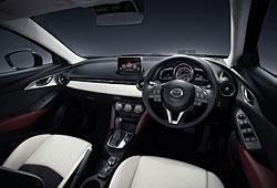 Mazda CX-3  - Cockpit US-Ausführung