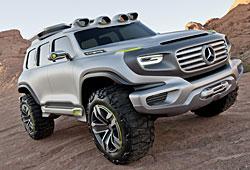 Mercedes Ener-G-Force-Studie Frontansicht