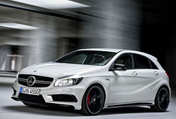 Mercedes A 45 AMG - Frontansicht