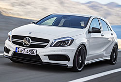 Mercedes A45 AMG Frontansicht