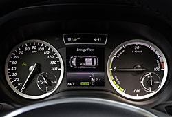 Mercedes B-Klasse Electric Drive - Instrumente