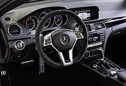 Mercedes C63 AMG Edition 507 Cockpit