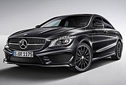 Mercedes CLA Edition 1 mit AMG-Anbauteilen