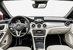 Mercedes CLA Cockpit