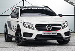 Mercedes Concept GLA 45 AMG - Frontansicht