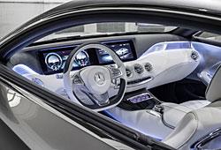 Mercedes Concept S-Class Coupe - Innenraumansicht