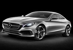 Mercedes Concept S-Klasse Coupe - Außenansicht