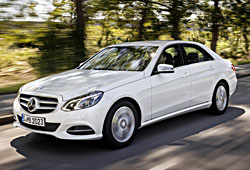 Mercedes E 200 NGD - Seitenansicht