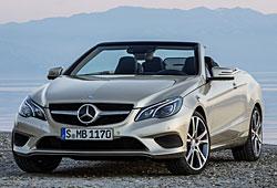 Mercedes E-Klasse Cabriolet Frontansicht
