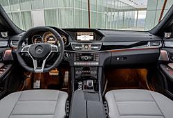 Mercedes E 63 AMG Cockpit