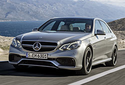 Mercedes E 63 AMG Frontansicht
