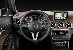 Mercedes GLA 220 CDI - Innenraum