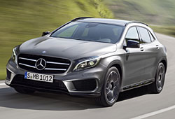 Mercedes GLA 250 4Matic - Frontansicht