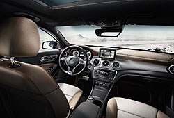 Mercedes GLA Edition 1 - Cockpit