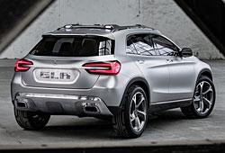 Mercedes GLA Concept - Heckansicht