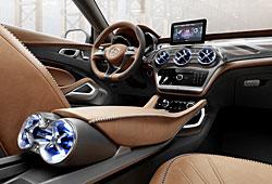 Mercedes GLA Concept - Innenraum