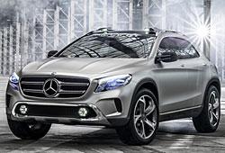 Mercedes Concept GLA - Vorderansicht