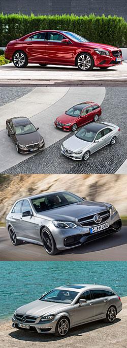 Überblick Mercedes-Neuheiten im April 2013